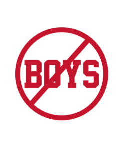 No Boys T Shirt