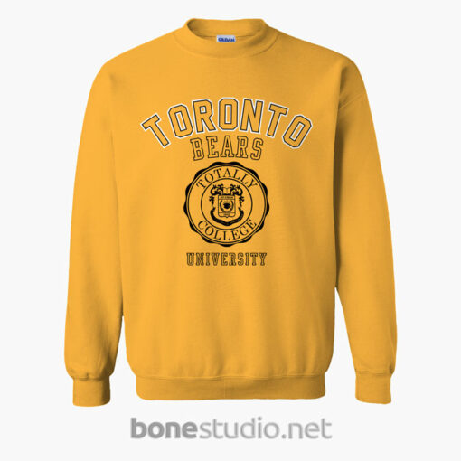 Toronto Bears University Sweatshirt