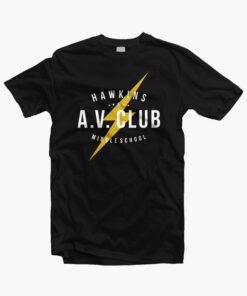 Hawkins A.V. Club T Shirt