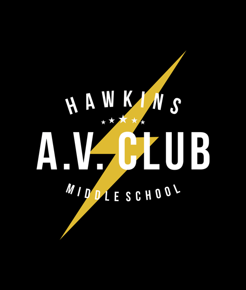 Hawkins A.V. Club T Shirt