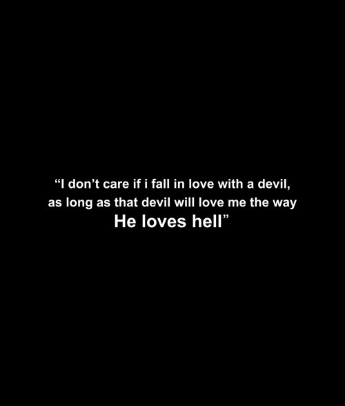 He Loves Hell T Shirt display