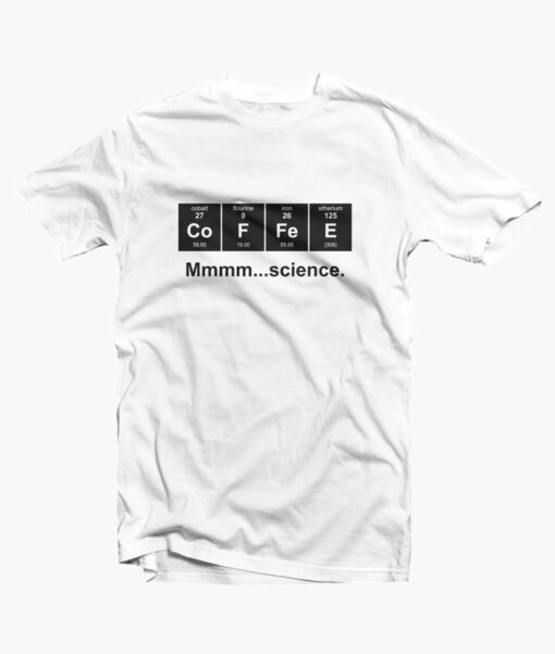 Periodic Table of Coffee T Shirt