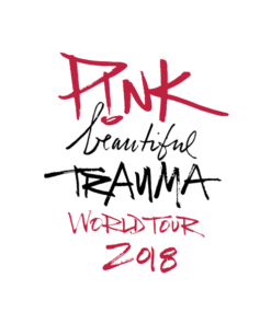 Pink Beautiful Trauma World Tour 2018 T Shirt