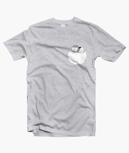 Pocket Catana and John T Shirt sport grey