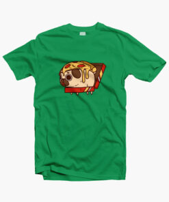 Puglie Pizza T Shirt irish green