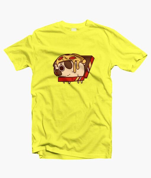 Puglie Pizza T Shirt yellow