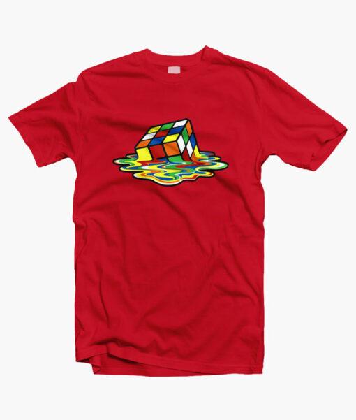 Rubix Cube T Shirt red