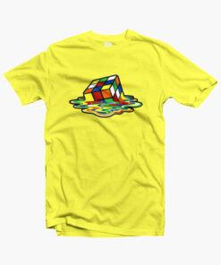 Rubix Cube T Shirt yellow