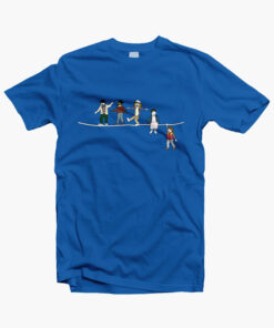 Stranger Things T Shirt The Acrobats and the Fleas royal blue