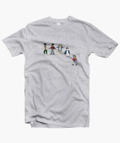 Stranger Things T Shirt The Acrobats and the Fleas sport grey