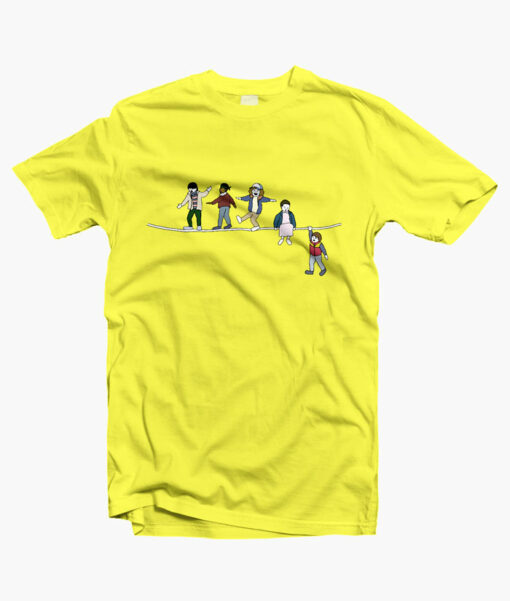 Stranger Things T Shirt The Acrobats And The Fleas