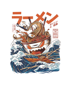 The Great Ramen Off Kanagawa T Shirt