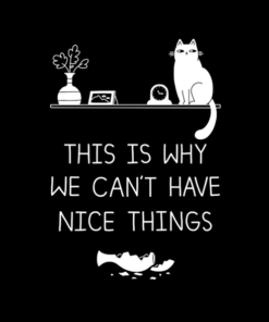 This Is Why We Can't Have Nice Things T Shirt