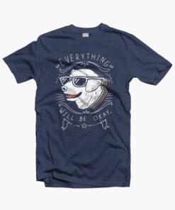 Dog T Shirt Retro