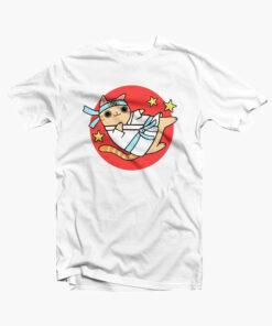 Karate Cat Funny T Shirt