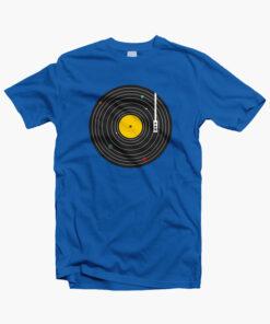 Music Everywhere T Shirt royal blue