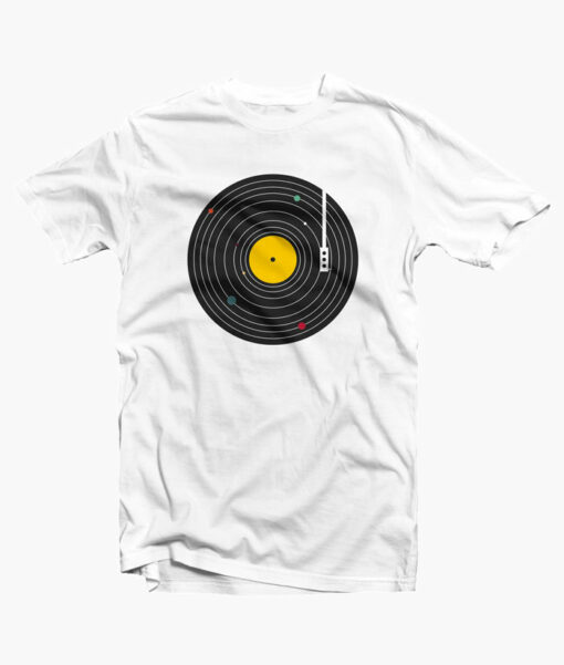Music Everywhere T Shirt white
