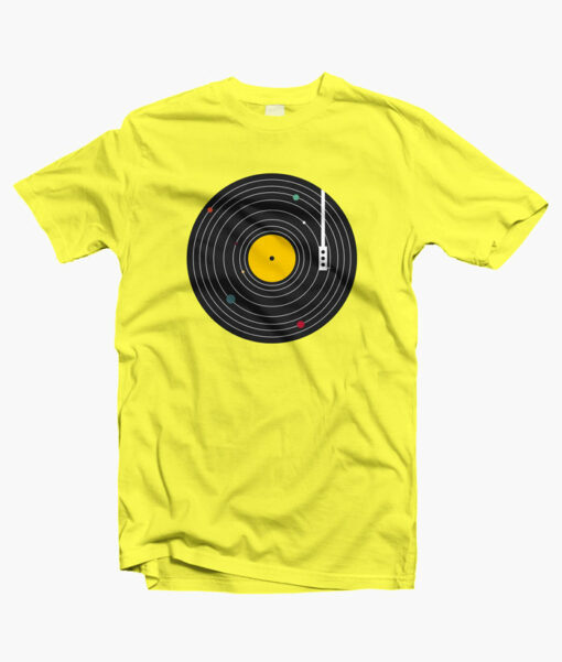Music Everywhere T Shirt yellow