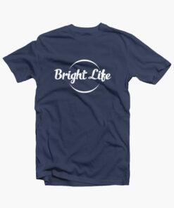 Bright Life T Shirt navy blue