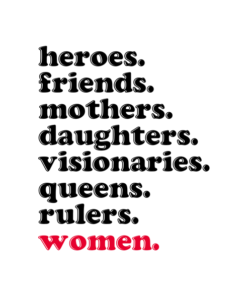Heroes Friends Mothers Women T Shirt