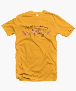 I See Both Sides Like Chanel Flower T Shirt