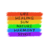 Life Healing Sun Nature Harmony Spirit Quote T Shirt