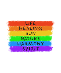 Life Healing Sun Nature Harmony Spirit Quote T Shirt