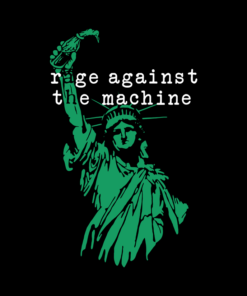 Rage Against The Machine Liberty Band T Shirt