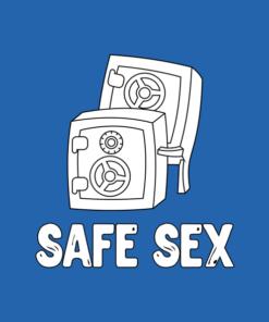 Safe Sex Funny T Shirt