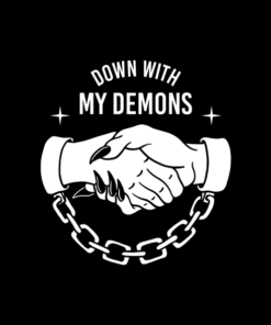 Down With My Demons T Shirt