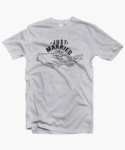 Just Married Love T Shirt
