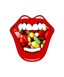 Mouth Pills T Shirt