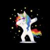 Unicorn Dab Funny T Shirt