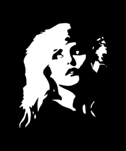 Blondie T Shirt Mono Faces