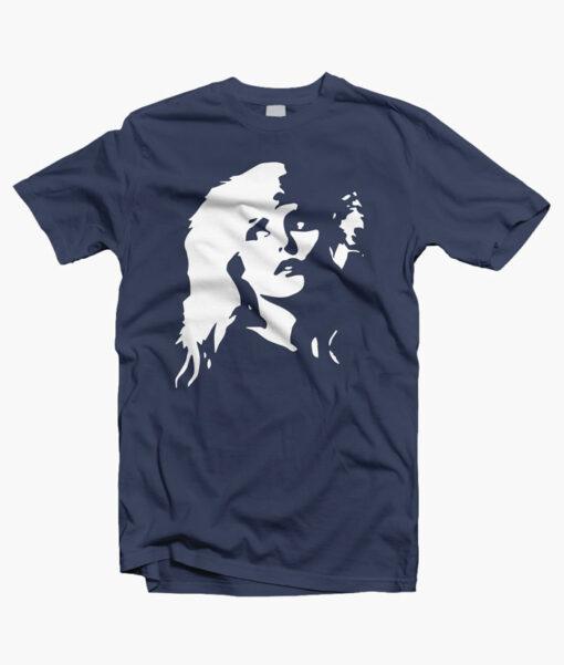 Blondie T Shirt Mono Faces