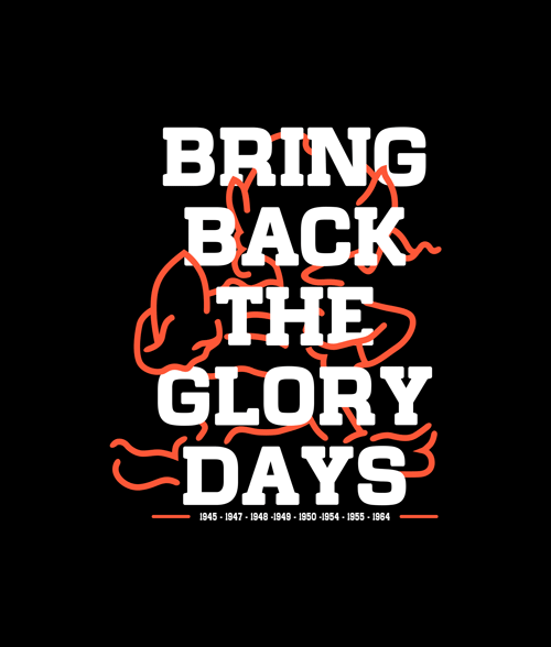 Bring Back The Glory Days Cleveland T Shirt