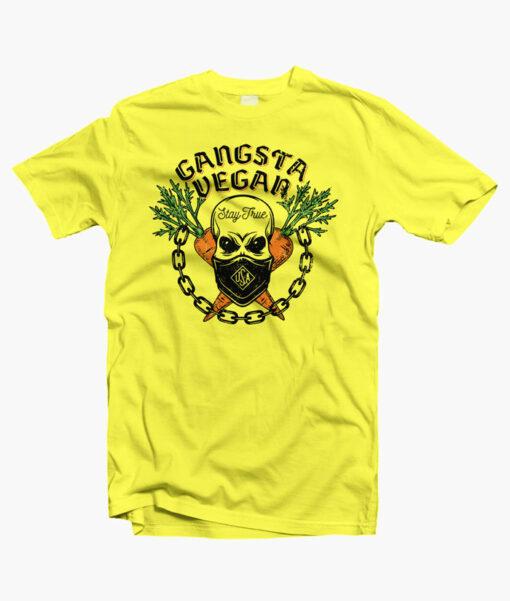 Gangsta Vegan T Shirt