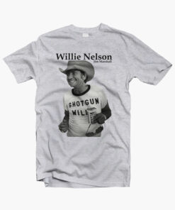 Retro Shotgun Willie Nelson T Shirt