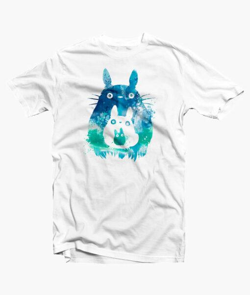 Totoro and Mini Totoros T Shirt