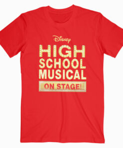 Disney High School Musical on Stage T Shirt