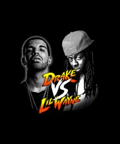 Drake VS Lil Wayne T Shirt
