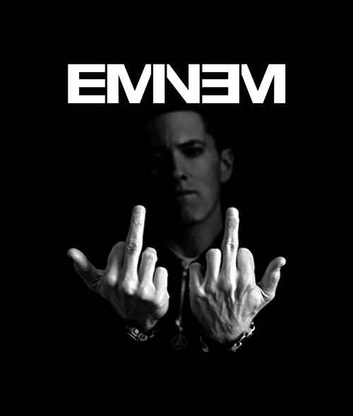 Eminem Finger T Shirt