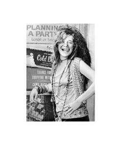 Janis Joplin Planning a Party Music Poster T Shirt