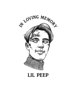 Lil Peep In Loving Memory T Shirt