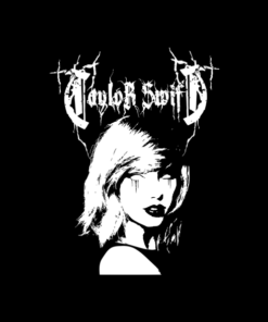 Taylor Swift Metal Mash Up T Shirt