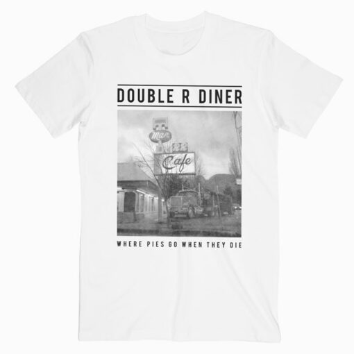 Twin Peaks Double R Diner Pie Heaven T Shirt
