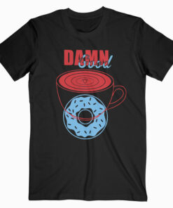Twin Peaks Good Coffee and Donut T Shirt