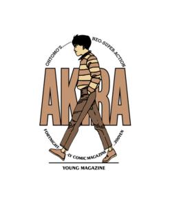Akira Anime Young Magazine T Shirt For Men Women
