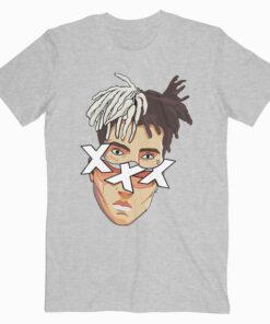 xxxtentacion Face Cut T Shirt