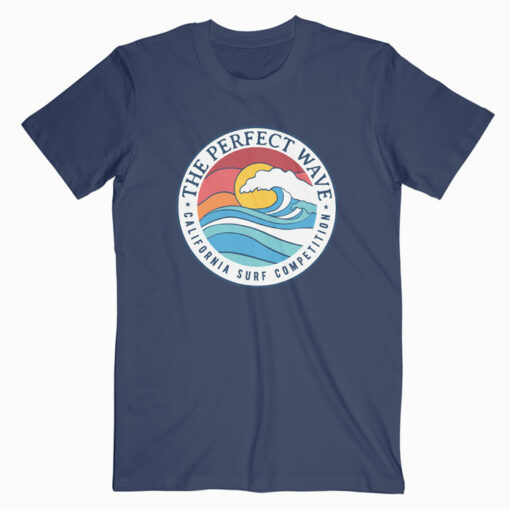 California Perfect Wave Summer Beach T Shirt